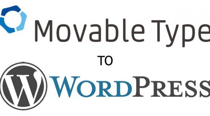 Movable Type To WordPress